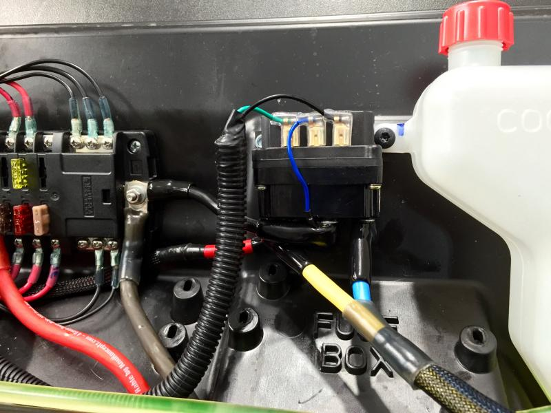 Fuse Blocks And Switch Panels