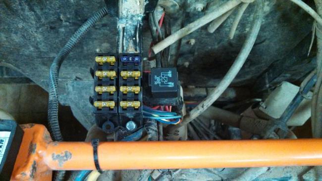 teryx painless wiring fuse block install rh hotrodforums net